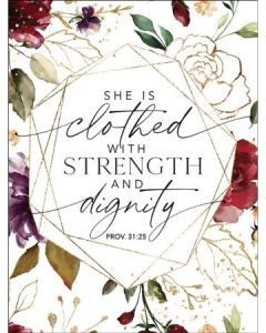 Magnet: She is Clothed with Strength, 6391