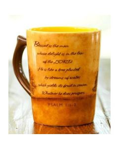 Mug Ceramic-Blessed Is the Man, Psalm 1:1-3, 80673