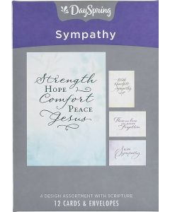 Boxed Cards: Sympathy, Simply Stated (77541)