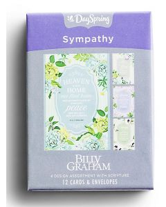 Boxed Cards-Sympathy Billy Graham 81842