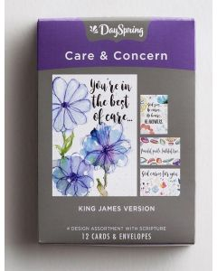 Boxed Cards-Care & Concern,  God Cares For You, 15210