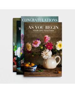Boxed Cards-Wedding  Flower Vases