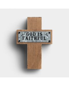 Cross (Wood/Metal):Faithful   Deut 7:9