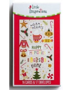 Boxed Cards-Christmas Warm Hearts