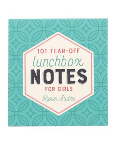 101 Lunch Box Notes For Girls, LBN001