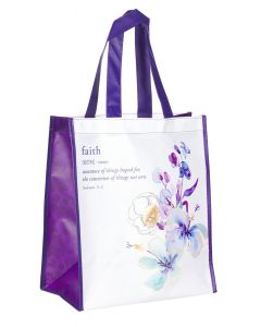 Tote Bag:Faith, Hebrews 11:1, TOT105