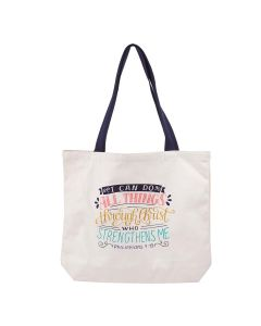 Tote Bag:Cotton-I Can Do All Things