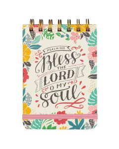 Notepad (Wirebound)-Bless the Lord  My Soul NP064
