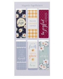 Magnet BooKmark Set of 6--Daisy, MGB062