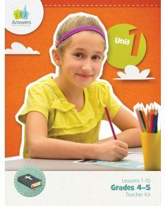 Answers Bible Curriculum ABC Grades 4-5 Unit 1 Teacher Kit