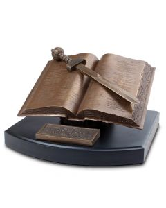 Sculpture-Handcast Resin: Word of God, 20121