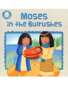 Candle Little Lambs-Moses In Bulrushes Booklet