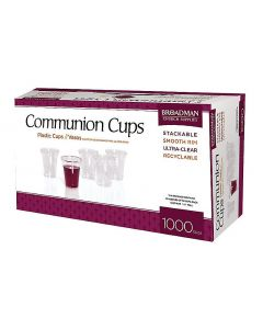 Communion Cups Plastic – 1,000