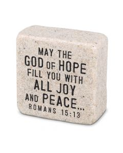 Peace, Cast Scripture Stone, 40701