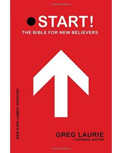 NKJV Start! The Bible for New Believers, Red, Softcover