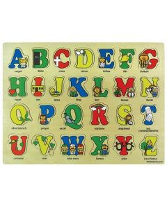 Wooden Puzzle - Bible ABC's #52421