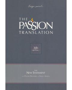 Passion Translation New Testament (2020 Edition) Large Print Navy