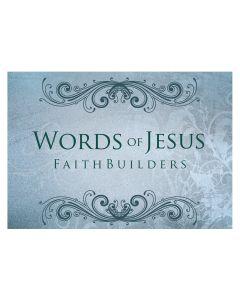 Faithbuilders-Words Of Jesus, 20pcs/Pkt, FAB034