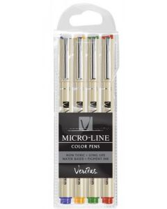 Micro-Line Color Pens Veritas 4/SET (PEN260)
