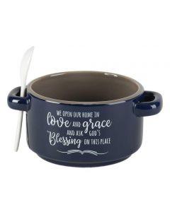 Soup Bowl-We Open Our Home SOUPBOWL-102