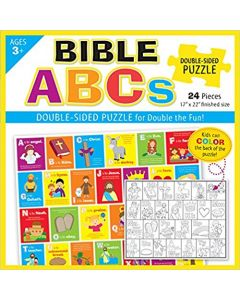 Bible ABCs Puzzle (Double Sided Puzzle Box Set)