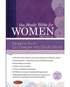 NKJV Study Bible For Women Personal Size