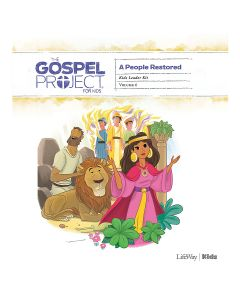 Gospel Project for Kids3.0 V6:People Restored Kids Leader Kit