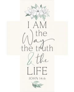 Cross White: I Am The Way The Truth And The Life, CRO0222