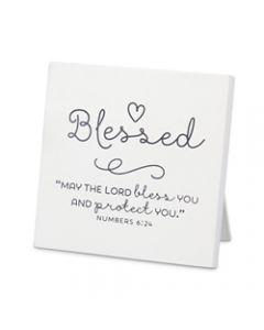 Plaque-Baby  Blessed  Numbers 6:24