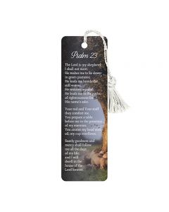 Bookmark-Psalm 23, D3381