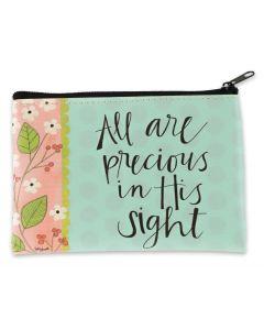 Coin Purse: All Are Precious In His Sight, 81148