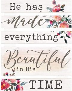 Embellished Decor: He Has Made Everything Beautiful, SKD0036