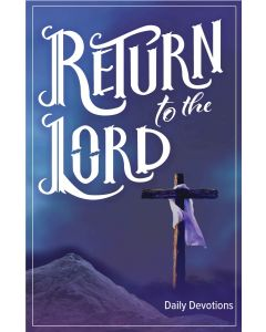 Return to the Lord