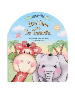 It's Time To Be Thankful (Board Book)
