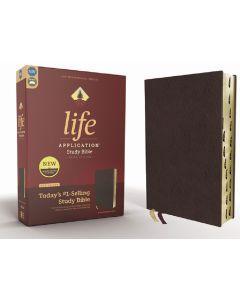 NIV Life Application Study Bible, Indexed, Burgundy, Third Edition