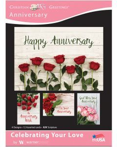 Boxed Cards-Anniversary Celebrating Love