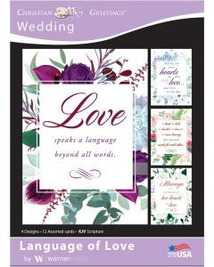 Boxed Cards-Anniversary  Language of Love
