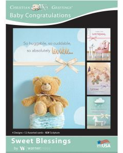Boxed Cards-Baby Congratulations  Blessings