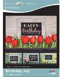Boxed Cards-Birthday  Birthday Joy