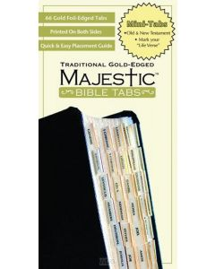 Bible Index Tabs Gold 51569