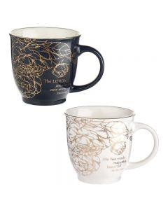 Mug:Ceramic-SET/2, Beautiful Morning, MUGS21