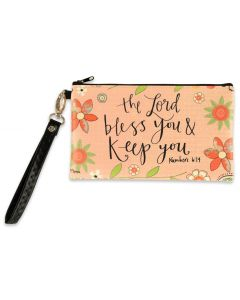 Zippered Bag:  The Lord Bless You and Keep You, 81261
