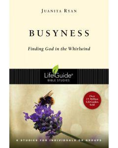 Lifeguide Bible Study (US)- Busyness (D2)