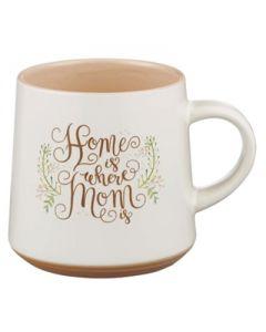 Mug:Ceramic-Home Is Where Mom Is