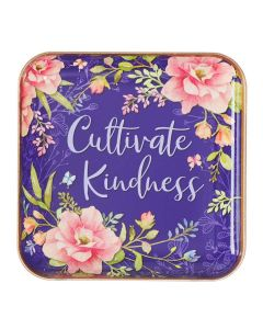Trinket Tray/Metal-Cultivate Kindness