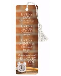 Bookmark-Every Day Every Hour, D3385