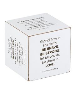 Square Quote Cube: Pastor, G2273