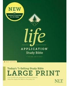 NLT Life Application Study Bible, Third Edition, Large Print