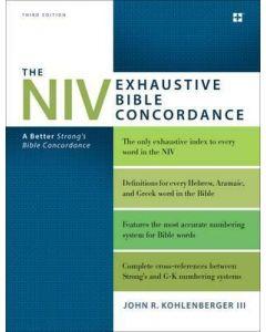 NIV Exhaustive Bible Concordance-3rd Edn