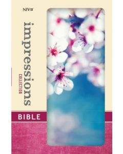 NIV Impressions Collection Bible, Cherry Blossom